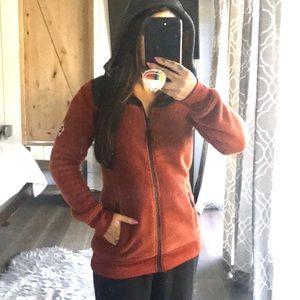 686 fuzzy hoodie zip up